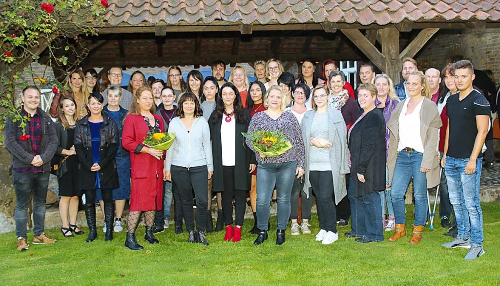 Das ist das Team von socius curandi um Geschäftsführerin Martina Kühnel (Mitte).