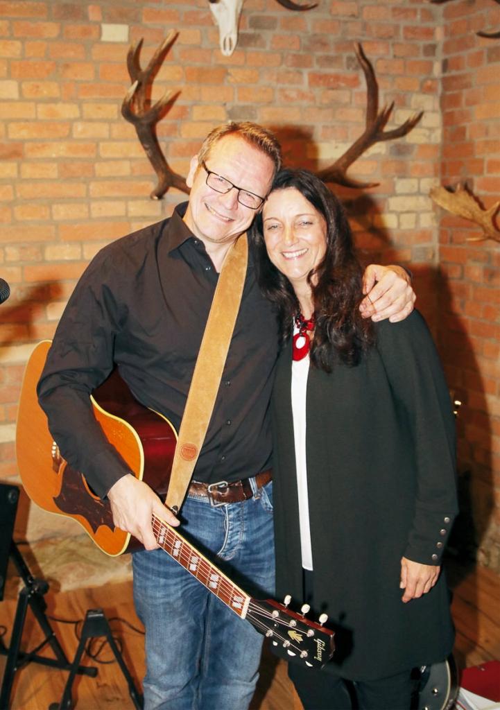 Peter van der Meer und Martina Kühnel