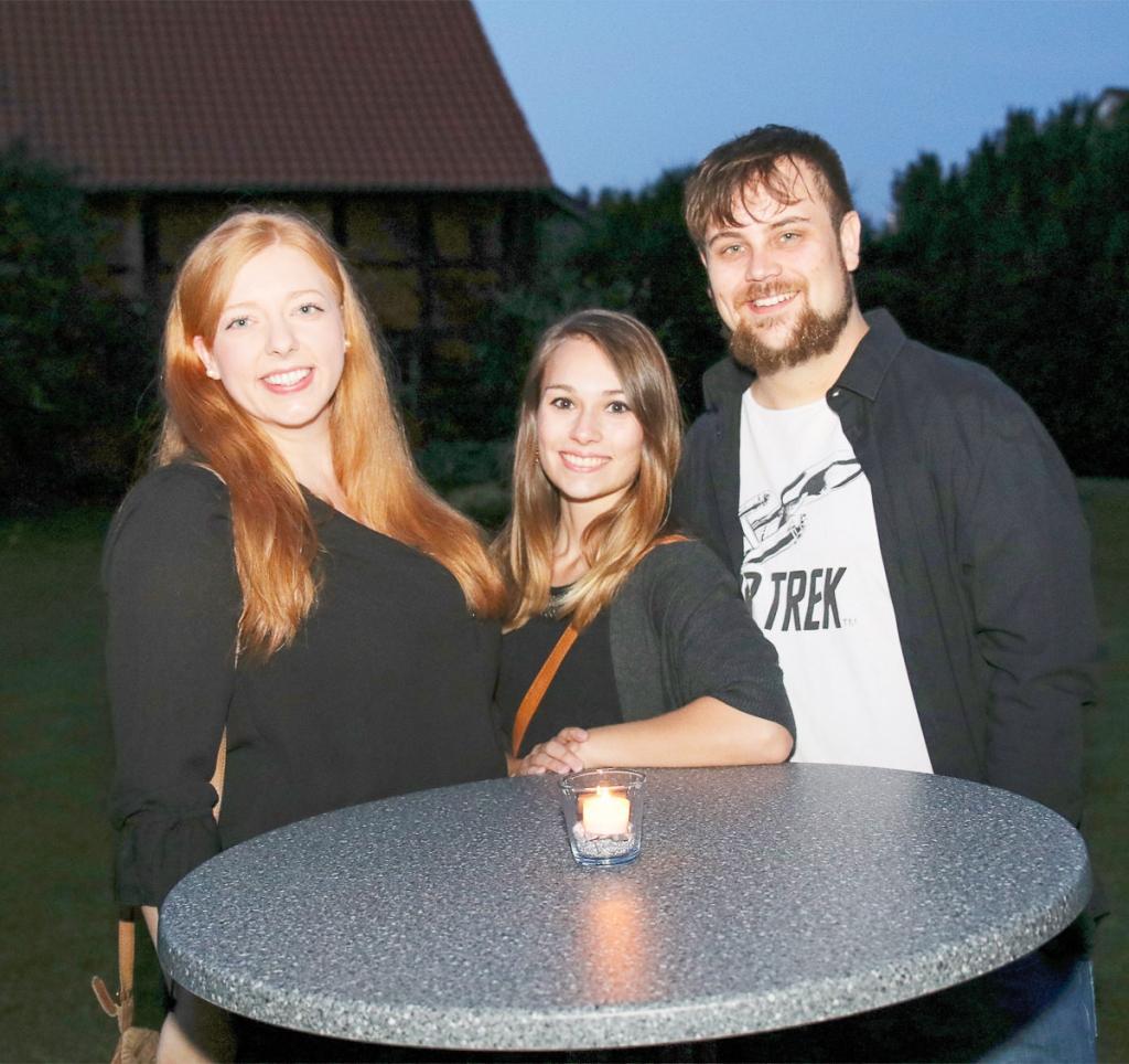 Sophie Warneke, Gina Jegodtka und Marco Kühnel (v. l.)